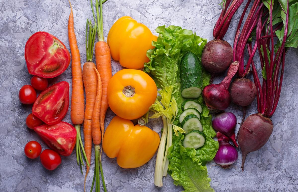 Colore e proprietà di frutta e verdura